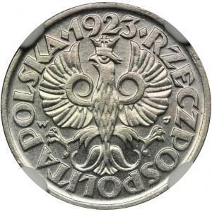 10 groszy 1923 - NGC MS64