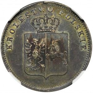 Powstanie Listopadowe, 2 złote Warszawa 1831 KG - NGC AU58