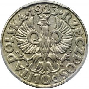 50 groszy 1923 - PCGS MS62