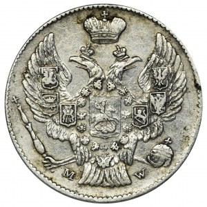 20 kopiejek = 40 groszy Warszawa 1842 MW - RZADKIE