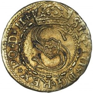 Zygmunt III Waza, Szeląg Ryga 1606 - RZADSZY