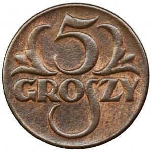 5 groszy 1937 - FAŁSZERSTWO