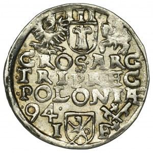 Zygmunt III Waza, Trojak Poznań 1594