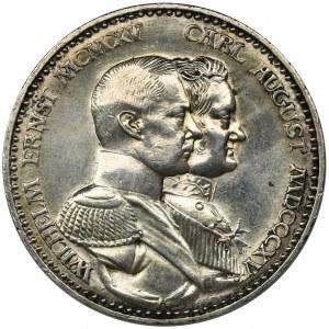 Niemcy, Saksonia-Weimar-Eisenach, Wilhelm Ernest, 3 Marki Berlin 1915 A