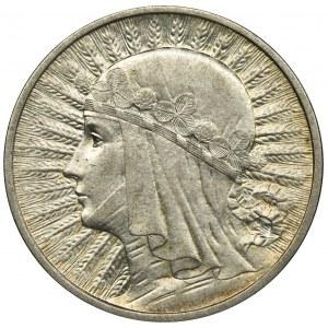 Głowa Kobiety, 2 złote 1933