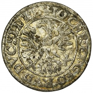 Śląsk, Księstwo Legnicko-Brzesko-Wołowskie, Jan Krystian Brzeski i Jerzy Rudolf Legnicki, 3 Krajcary Złoty Stok 1616