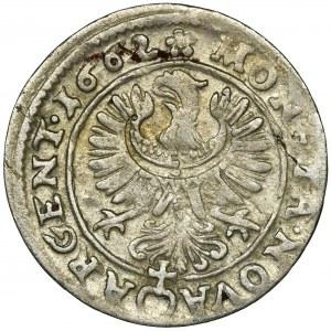 Śląsk, Księstwo Legnicko-Brzesko-Wołowskie, Krystian Wołowski, 3 Krajcary Brzeg 1662