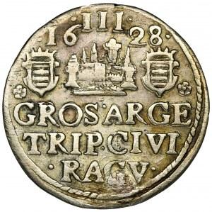 Raguza (Dubrownik), Św. Błażej, Artiluk (trojak) Mimica 1628 - RZADKI