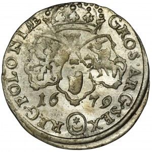 Jan III Sobieski, Szóstak Bydgoszcz 1679 - TLB na awersie
