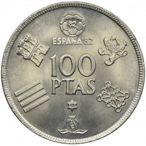 Hiszpania, Juan Karol I, 100 peset, 1980 - Mundial 1982