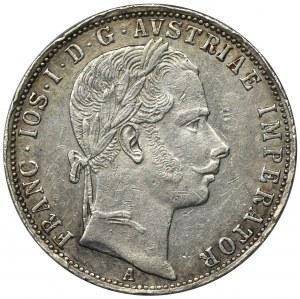 Austria, Franciszek Józef I, 1 Floren Wiedeń 1861 A