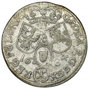 Jan III Sobieski, Szóstak Kraków 1684 TLB - przebitka nominału