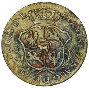 Poniatowski, 2 Groschen 1766 FS
