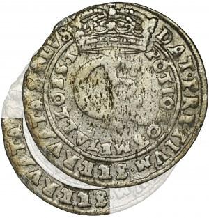 John II Casimir, Tymf Bromberg 1665 AT - RARE, error SEERVATA