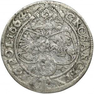 John II Casimir, 6 Groschen Bromberg 1664 AT