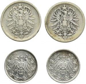 Zestaw, Niemcy, Marki (4 szt.)