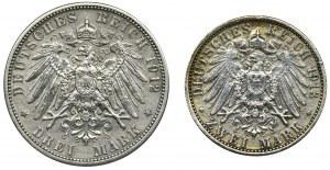 Zestaw, Niemcy, Marki (2 szt.)