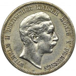 Niemcy, Królestwo Prus, Wilhelm II, 5 Marek Berlin 1898 A