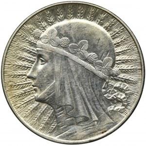 Głowa Kobiety, 5 złotych Warszawa 1934