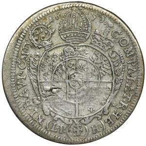 Silesia, Duchy of Neisse, Franz Ludwig von Pfalz-Neuburg, 15 Kreuzer Neisse 1693 LPH
