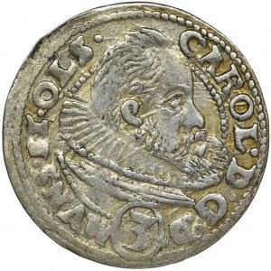 Śląsk, Księstwo Ziębicko-Oleśnickie, Karol II, 3 Krajcary Oleśnica 1612
