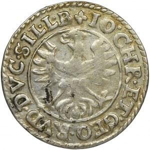Śląsk, Księstwo Legnicko-Brzesko-Wołowskie, Jan Krystian Brzeski i Jerzy Rudolf Legnicki, 3 Krajcary Złoty Stok 1617
