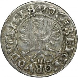 Śląsk, Księstwo Legnicko-Brzesko-Wołowskie, Jan Krystian Brzeski i Jerzy Rudolf Legnicki, 3 Krajcary Złoty Stok 1620