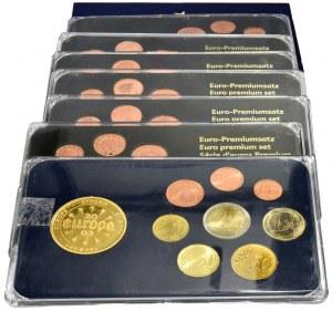 Zestawy monet Euro i zestaw z Malty (70 szt.)