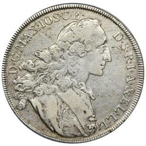 Niemcy, Bawaria, Maksymilian III Józef, Talar Monachium 1767