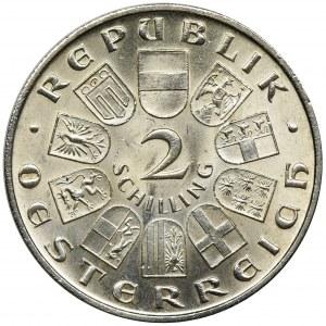 Austria, 2 Szylingi Wiedeń 1930