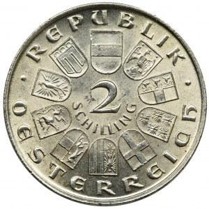 Austria, 2 Szylingi Wiedeń 1929