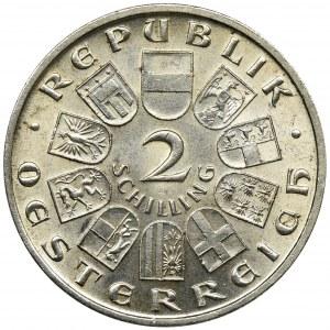Austria, 2 Szylingi Wiedeń 1928
