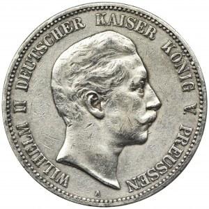 Niemcy, Królestwo Prus, Wilhelm II, 5 Marek Berlin 1904 A