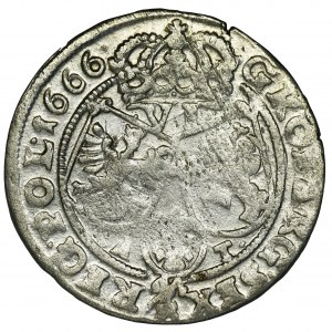 John II Casimir, 6 Groschen Krakau 1666 AT