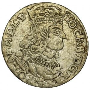 Jan II Kazimierz, Szóstak Poznań 1662 NG - RZADSZY