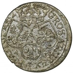 Jan II Kazimierz, Szóstak Bydgoszcz 1662 AT - jedna obwódka