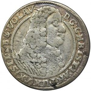 Śląsk, Księstwo Legnicko-Brzesko-Wołowskie, Krystian Wołowski, 15 Krajcarów Brzeg 1664