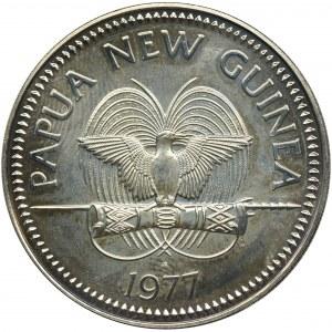 Papua Nowa Gwinea, 10 Kina 1977