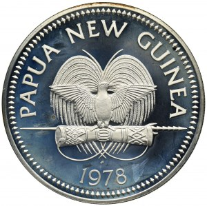 Papua Nowa Gwinea, 10 Kina 1978