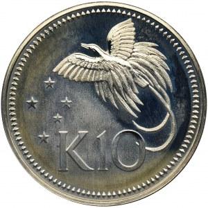Papua Nowa Gwinea, 10 Kina 1980