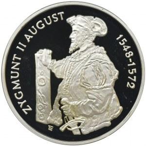 10 złotych 1996, Zygmunt II August, Półpostać - RZADKA