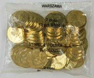 2 złote 2005 - Stanisław August Poniatowski - Worek menniczy (50 szt.)
