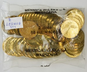2 złote 2006 - Legnica - Worek menniczy (50 szt.)