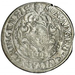 Jan II Kazimierz, Ort Elbląg 1662 NH - BARDZO RZADKI