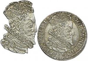 Zygmunt III Waza, Szóstak Malbork 1599 - duża głowa