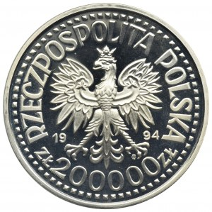200.000 złotych 1994, 75 lat Związku Inwalidów Wojennych RP