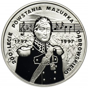 10 złotych 1996, 200-lecie powstania Mazurka Dąbrowskiego