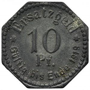 Szczecin, 10 fenigów 1917