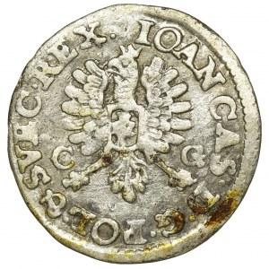 John II Casimir, 2 Groschen Bromberg 1651 CG - IOAN