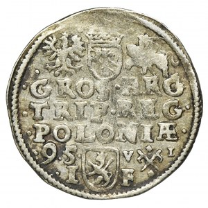 Sigismund III Vasa, 3 Groschen Posen 1595